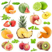 Collection of fruits — Stock Photo