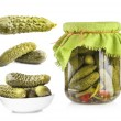 Collection of Pickles cucumbers — Stock Photo #37696509