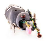 Broken mechanical toy — Stock Photo
