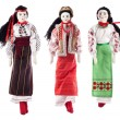 Ukrainian rag dolls — Stock Photo