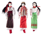 Ukrainian rag dolls — Stockfoto
