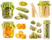Preserved vegetables — Foto Stock