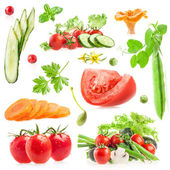 Collections of vegetables — Stock Photo