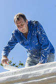 Painting House — Stock Photo
