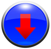 Glossy Button — Stockfoto