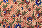 Beautiful batik patterns — Stock Photo
