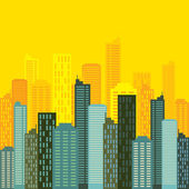 Skyline buildings — Stock Vector
