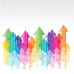 Colorful arrows — Stock Vector #39296375