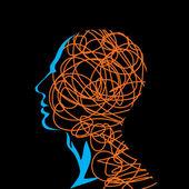 Human head — Stock Vector