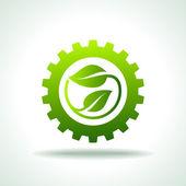 Industry energy icon — Stock Vector