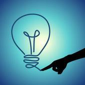 Conceptual idea selection — Stock Vector