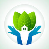 Save earth — Stock Vector