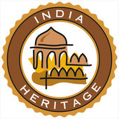 India heritage — Stock Vector