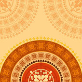 Creative indian ornament — Stock vektor