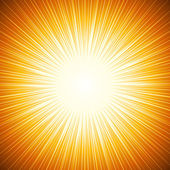 Sun beams — Stock Vector