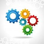 Cog wheel — Stock Vector