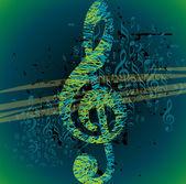 Musical icon — Stock Vector