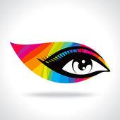 Creative eye — Stock Vector