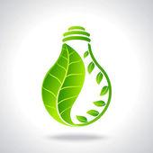 Green eco energy — Stock Vector