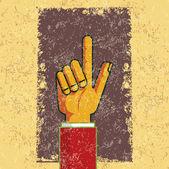 Dłoni — Wektor stockowy
