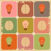 Creative Brain idea — Stock Vector