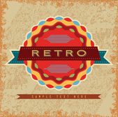 Retro Design Elements — Stock Vector