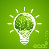 Environmental friendly concept — Stock vektor