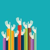 Gönüllü — Stok Vektör