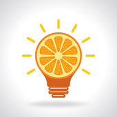 Creative idea for health — Stock Vector