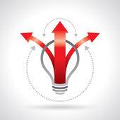 Light-bulb — Stock Vector