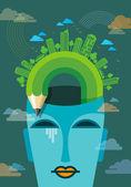 Concept of environment — Stock Vector