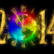 Happy new year 2014 - America — Stock Photo #34813213