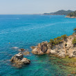 Coast Lloret de Mar — Stock Photo