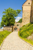 Akershus Fortress pathway — Stock Photo