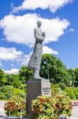 Kralı haakon vii heykeli — Stok fotoğraf