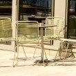 Stock Photo: Table and chairs
