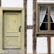 Door and window — Foto de Stock
