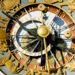 Close-up of clock of Oslo City Hall — Stock Photo #12490982