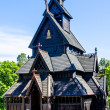 Viking church — Stock Photo