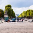 Paris Champs Elysee street — Stock Photo