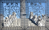 Vigeland gate — Stock Photo