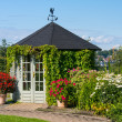 Stock Photo: Gazebo in botanical garden