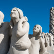 Vigeland Statue girls — Stock Photo #12519018