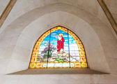 Interiören i tibidabo kyrkan — Stockfoto