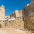 Foto de Stock  : Bellver Castle Castillo tower in Majorcat Palmde MallorcBa