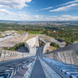 View on oslo from ski jump — Stock Photo #12659242
