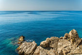 Rocky coast of Mallorca — Stock Photo
