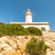 Lighthouse at Formentor Majorka - Stock Photo