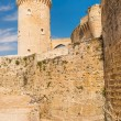 Bellver Castle Castillo tower in Majorca - Stock Photo