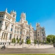Plazde lCibeles in Madrid Spain — Stock Photo #12685676
